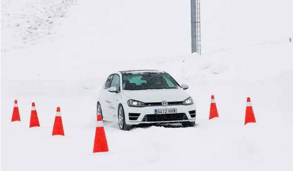 volkswagen driving experience andorra