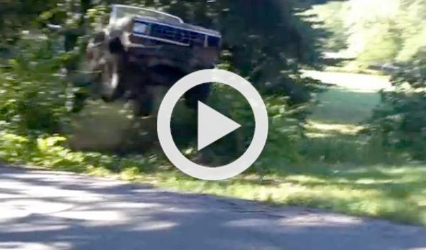 Vídeo: un salto que casi acaba en tragedia