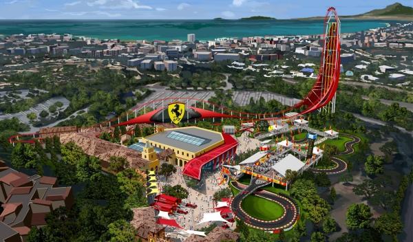 El Ferrari Land España llegará en 2016