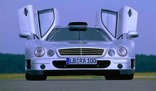 Venden un Mercedes CLK GTR AMG por 1 millón de euros
