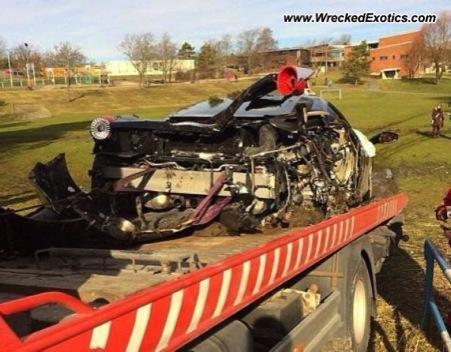 Ferrari 458 Italia golpe
