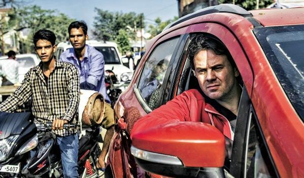 Conducir por la India sin carriles