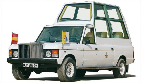 Los coches del Papa: historia de los Papamóviles