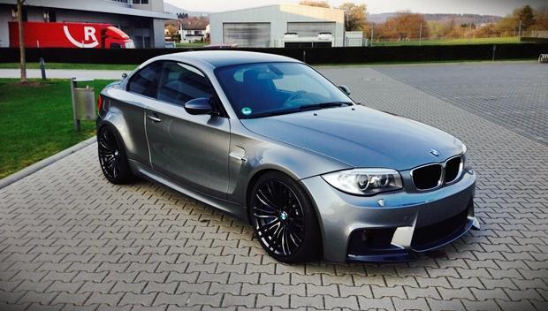 BMW 1M CSL: un 118d ¡con 562 CV!