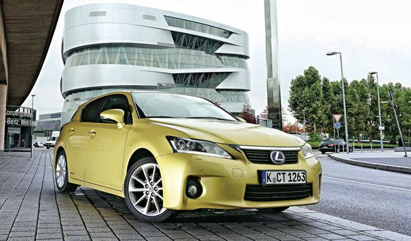 Lexus CT 200h Test 100.000 km