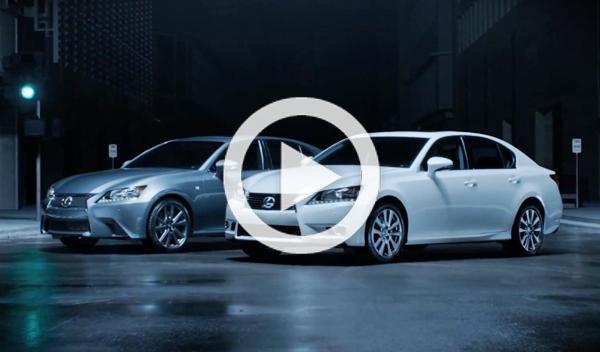 El Lexus GS se burla de sus rivales en este nuevo anuncio
