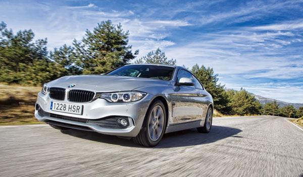 BMW 420d frontal