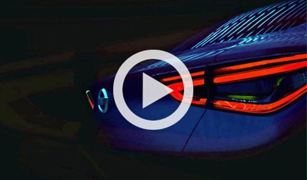 Un Nissan sedán concept, en el Salón de Pekín 2014