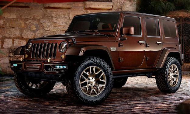 Jeep Wrangler Sundancer Concept delantera