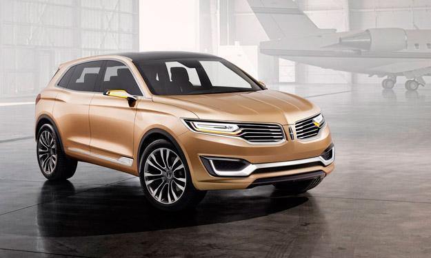 Lincoln MKX Concept delantera