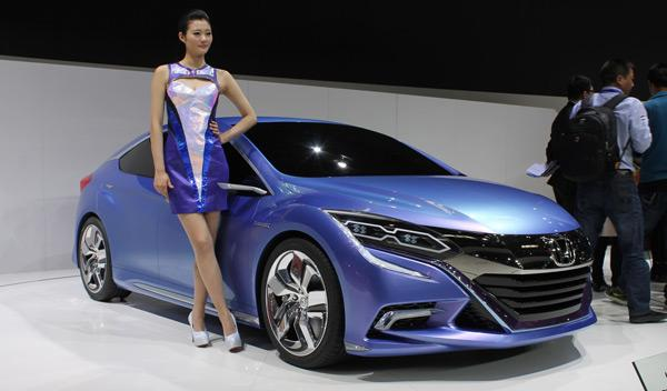 El Honda Concept B, en el Salón de Pekín 2014