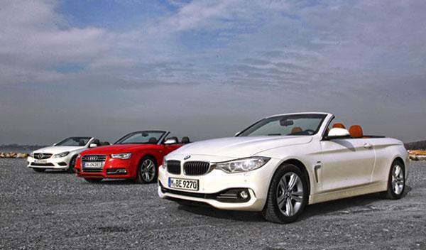 Comparativa Audi S5/BMW 435i/Mercedes E400 Cabrio