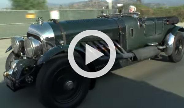 El Bentley GJ 400 de Jay Leno, ¡con motor de 27 litros!