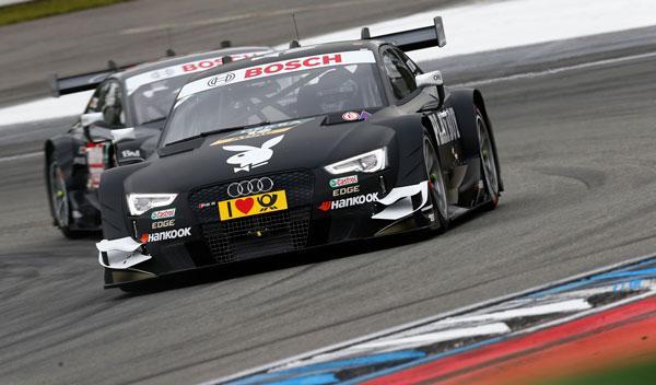 DTM 2014, Hockenheim: Tambay y Audi, primera pole del año