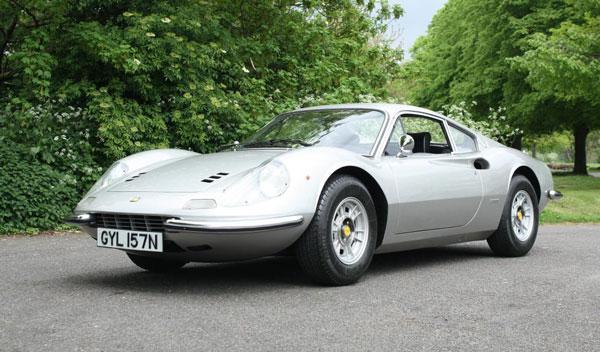 El Ferrari Dino de Keith Richards sale a subasta