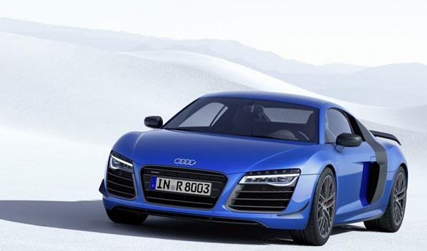 Audi R8 LMX: con faros láser