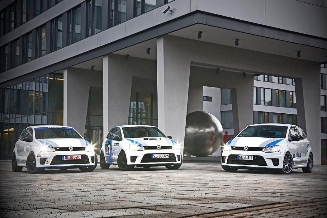 Tres VW Polo 'tuneados'