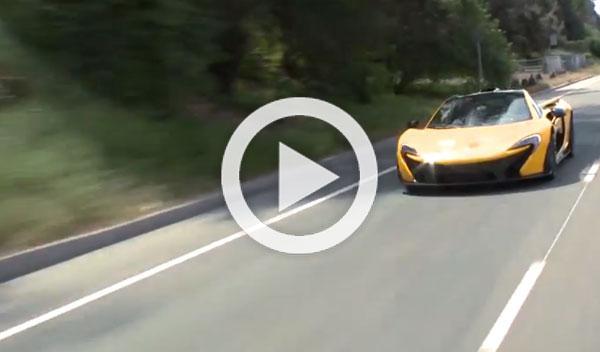 Vídeo: Jay Leno conduce su nuevo McLaren P1