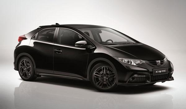 Honda Civic Black Edition, en el Salón de Madrid 2014