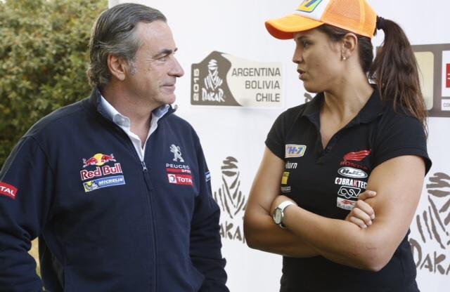 """Carlos Sainz sobre el Dakar 2015: """"Aspiramos a lo máximo"""""""