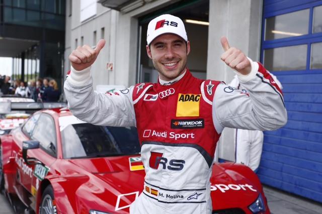 Miguel Molina logra la pole en Oschersleben