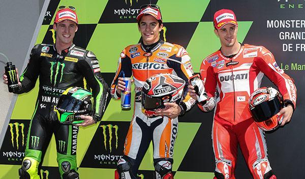 Parrilla de salida MotoGP GP Francia 2014