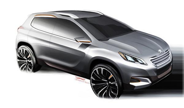 ¿Un Peugeot 2008 de tres puertas? Podría ser el nuevo 1008