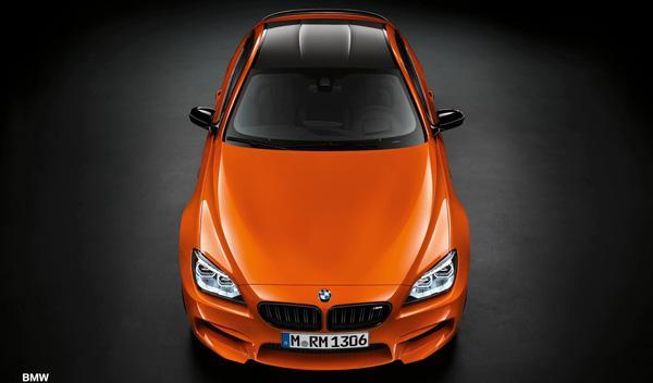 BMW M6 Marco Wittmann Fire Orange