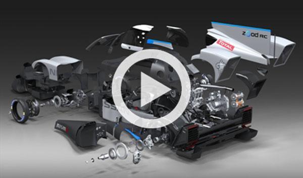 Vídeo: ¿qué esconde el Nissan ZEOD bajo su carrocería?