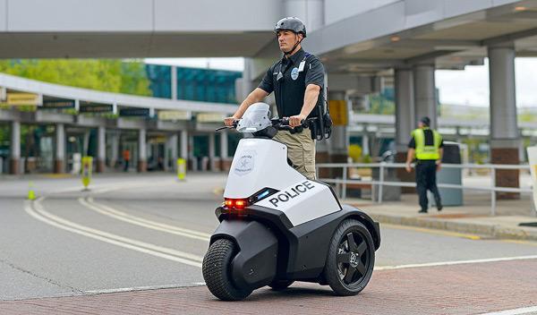 Un Segway para la Policía