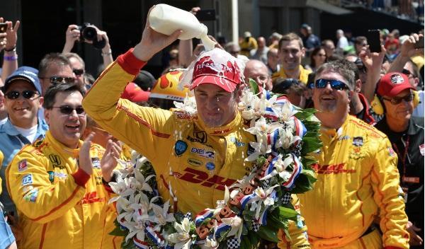 500 Millas Indianápolis 2014: Hunter-Reay, por 60 milésimas