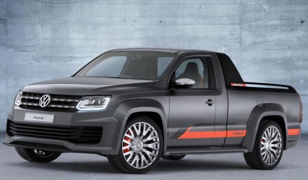 Volkswagen Amarok Power Concept frontal