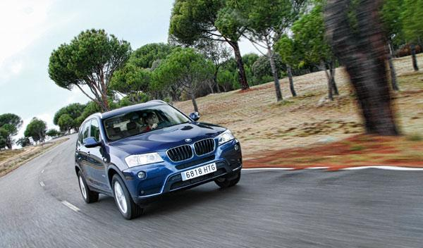 El consumo medio que arrojó el BMW X3 sDrive es fue de 6,2 l/100 km