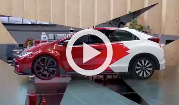 Vídeo oficial: así suena el Honda Civic Type-R 2015