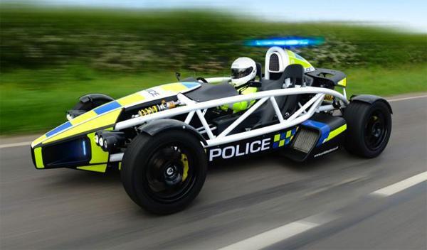 ¿Un Ariel Atom para la Policía de Somerset?
