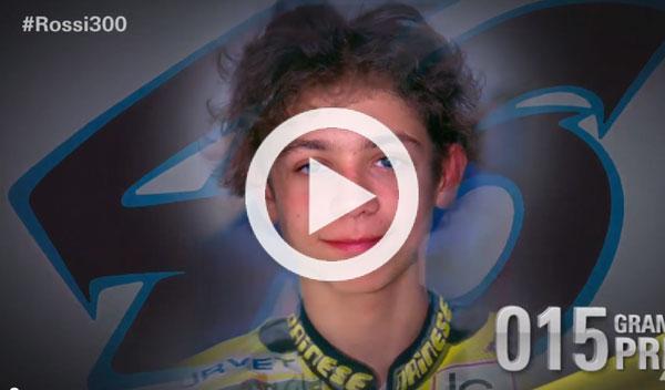 Las 300 caras de Valentino Rossi: la evolución del campeón