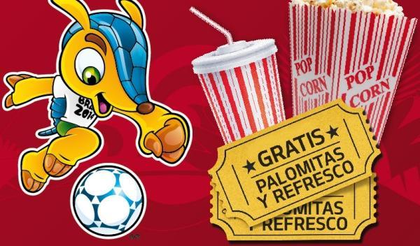Kia te invita a ver el Mundial de Brasil en el cine