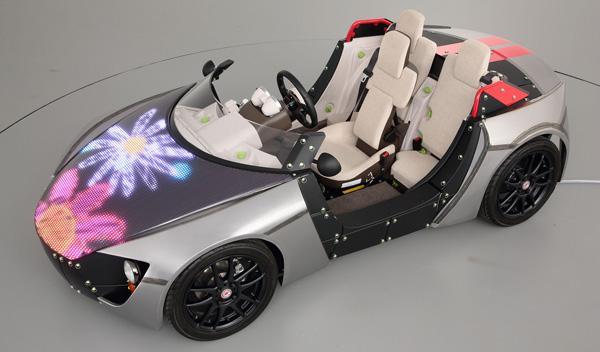 Toyota Camatte Sport LED Concept, para niños y mayores