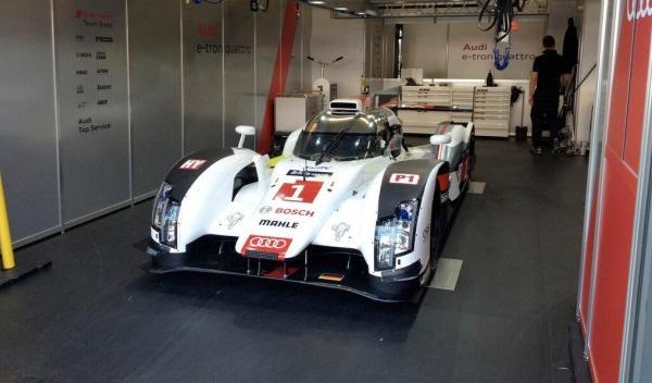 Accidente de Duval en las 24 Horas de Le Mans 2014