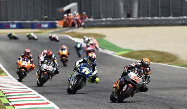Parrilla de salida Moto2 GP Cataluña 2014