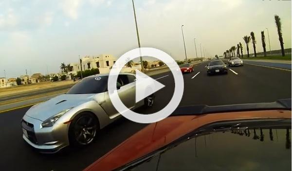 Un Corvette 'Twin-Turbo' contra un Nissan GT-R de 800 CV