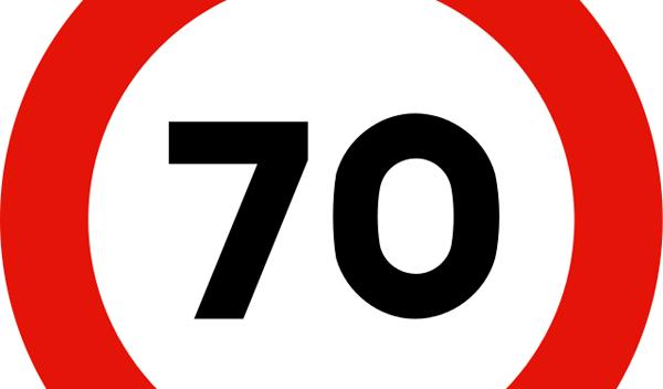 Cazado a 160 km/h en un tramo limitado a 70 km/h