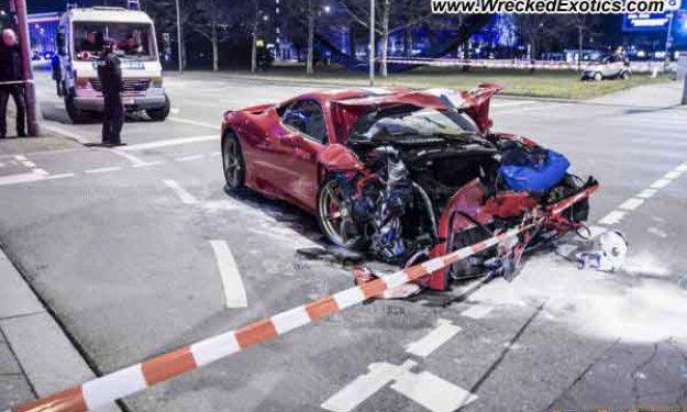 Cinco formas de destrozar un Ferrari