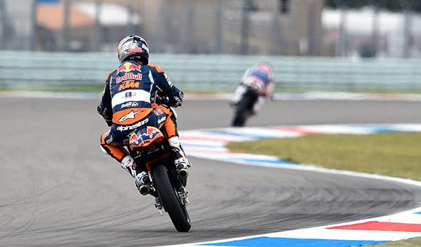 Clasificación Moto3 GP Holanda 2014: otra pole para Miller