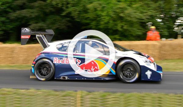 Sebastien Loeb, ganador del Goodwood Festival of Speed 2014