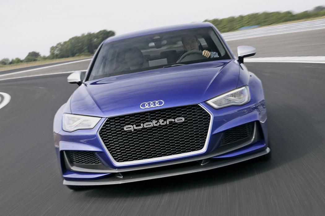 Audi A3 clubsport quattro: 525 CV al límite en circuito