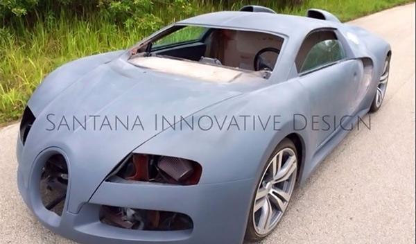 Un Bugatti 'Veyron' a precio de saldo