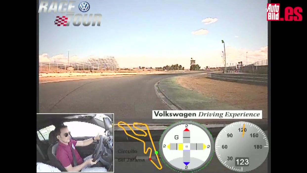Vuelta rápida al Jarama con Volkswagen Golf R (Race Tour)