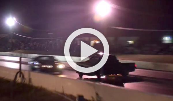 Pierde el control de su Chevrolet S-10 pick-up 'dragster'