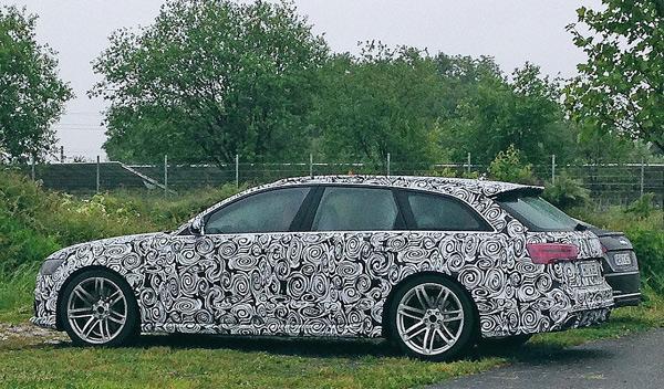 Audi RS 6 Avant Plus, ¡cazado!